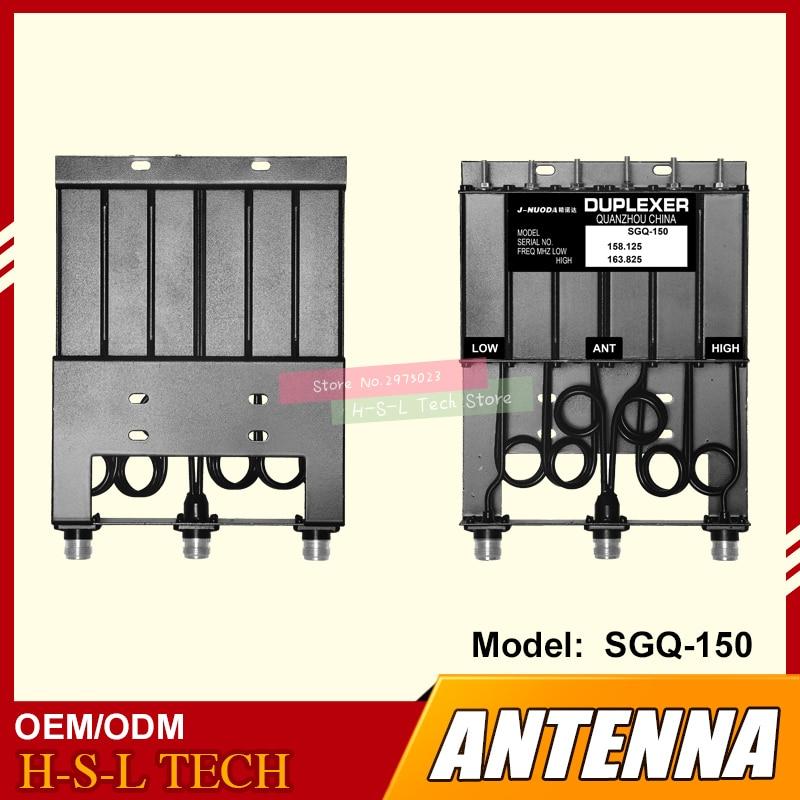 Repeater Duplexer 30W N-connector VHF 6 Cavity Duplexer  SGQ-150