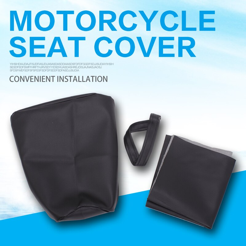 Cojines de asiento cubierta de cuero impermeable para HONDA CBR250 MC19 CBR250RR NC19 CBR19 1988 1989 accesorios de motocicleta