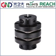 GNLT 45 # abrazadera de doble diafragma de acero escalonado serie 45 # acoplamientos de eje de acero D82mm a D126mm; L98mm a L110mm