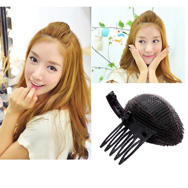 1 Pcs Popular Large Forehead Hair Volume Fluffy Princess Styling Increased Hair Sponge Pad Hair Puff Headwear Hair Accessories