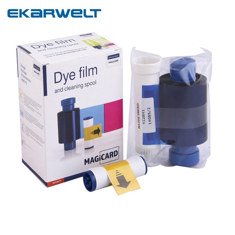 Cinta de Color MA300 para Magicard Enduro Rio Pro Pronto impresoras MA300YMCKO cinta de color película de tinte