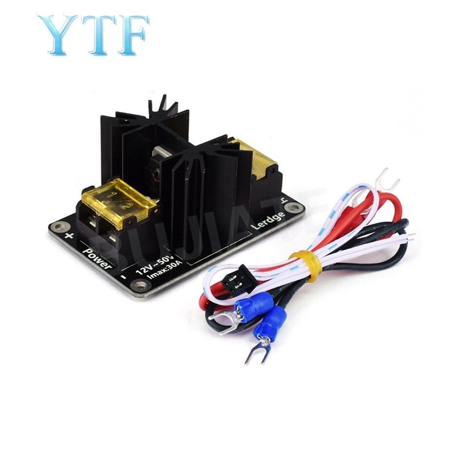 3D принтер Часть Тепловая кровать модуль питания Горячая кровать Плата расширения питания высокая нагрузка модуль Mos трубка с кабелями