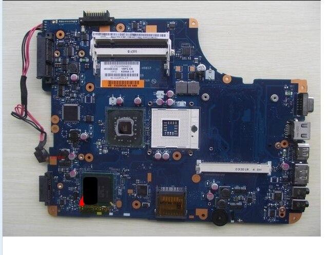K000080430 Placa de conexión La-4981P L500 L550 L505 con placa base probada por el sistema