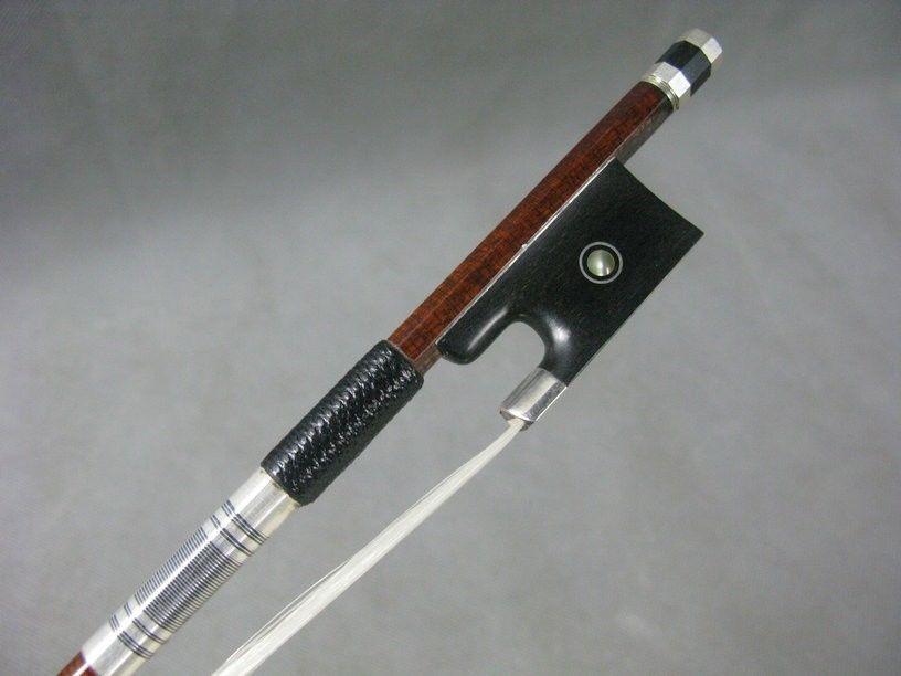6pcs High quality strong Pernambuco Carbon fiber violin bow 4/4