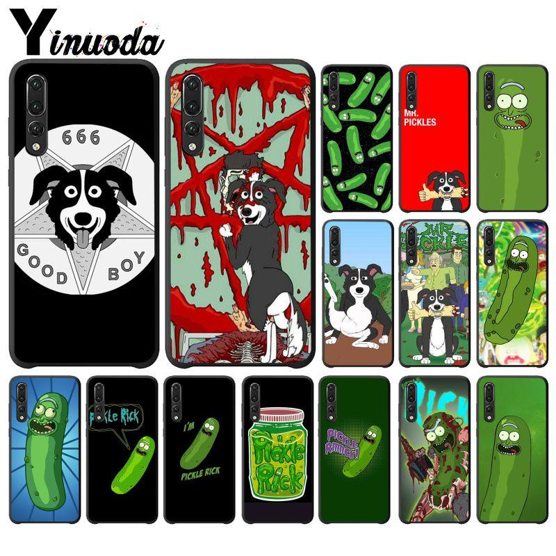 Yinuoda patrón de dibujos animados caja del teléfono TPU para Huawei P10 más 20 pro P20 lite mate9 10 lite honor 10 view10 Coque Shell Fundas Capa