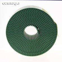 Couleur verte pour cadre machine à broder   Tajima et ceinture à dents trapézoïdale TAJIMA S5M pièces vertes de broderie SWF