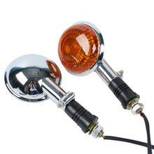 Clignotants de clignotant de lentille Orange avant de moto pour Yamaha Virago XV250 250 2006 V-MAX1200 v-star XVS400 XVS650 XVS1100