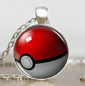 Pokemon Anime Snow Globe Pokeball Charizard collar de moda 1 unids/lote colgante steampunk joyería regalo mujeres nueva cadena de juguete hombres Niño