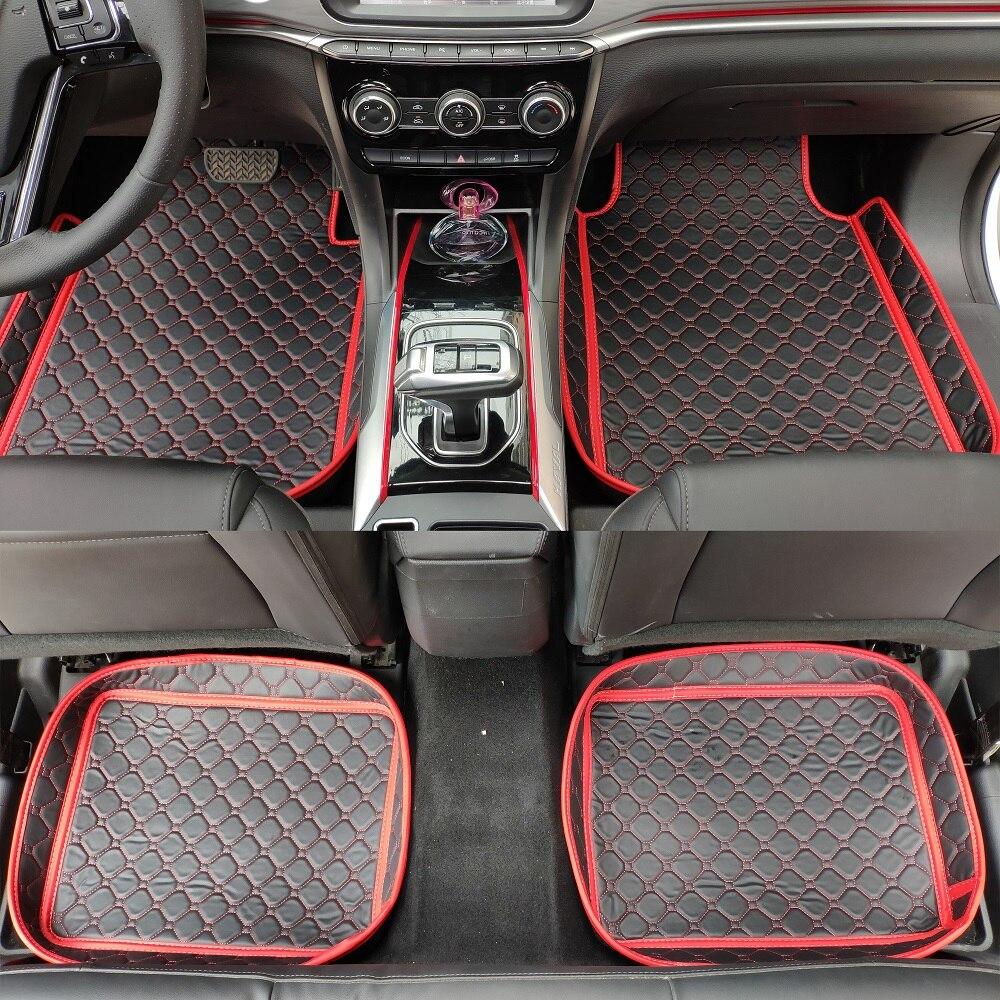 Personalizado caso pé esteiras do assoalho do carro para BMW série 3 E90 E91 E92 E93 318d 320d 320i 325i 328i 330i 335i 335d 325d 330d forros