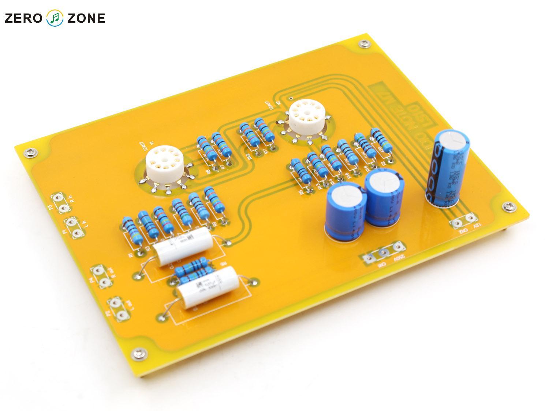 Ls10 Audio amplifier board (mote M7 Line) - Finished borad Plate 2pcs 12AU7 two side enlarge amplifier