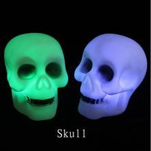 Lanterne de nuit en forme de crâne   Flambant neuf, lampe de nuit, décoration dhalloween, décor de fête