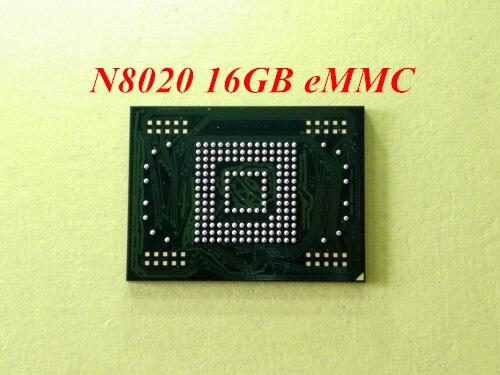 1pcs-5pcs para samsung Galaxy Note 10,1 N8020 eMMC 16GB de memoria flash NAND con firmware