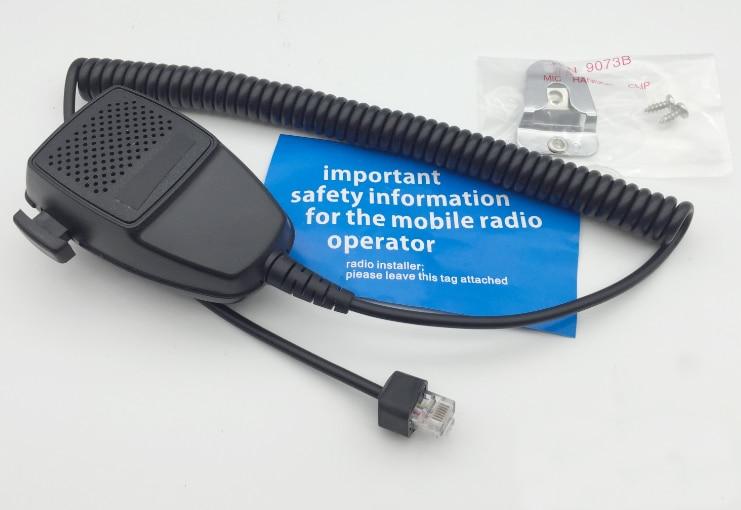 2 pc altavoz micrófono HMN3596A para Motorola GM340 GM350 GM360 GM3688 GM380 GM600 GR1225 GR300 coche Radio móvil