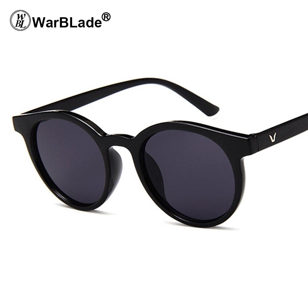 Женские солнцезащитные очки WarBLade, брендовые дизайнерские зеркальные очки кошачий глаз с зеркальным покрытием, UV400