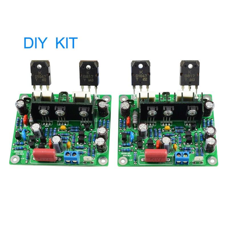 2 stücke MX50 SE 100WX2 Dual Kanäle Audio Power verstärker Board Diy Kit Neue Version