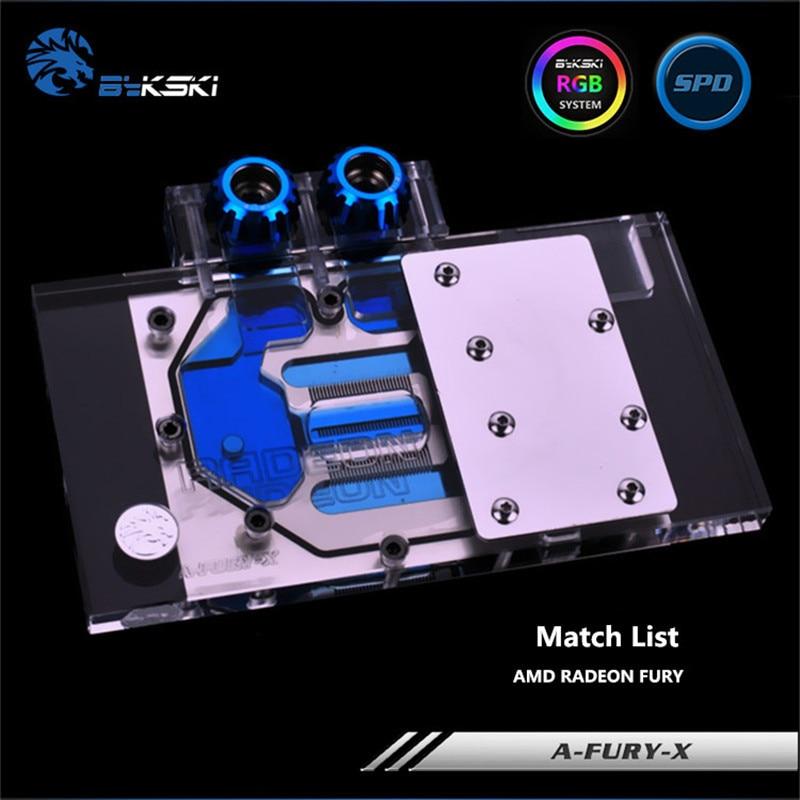 Bykski полный охват GPU Блок воды для AMD RADEON FURY видеокарта A-FURY-X