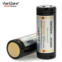 3 шт. VariCore защита 26650 5100mAh 3,7 V Li-lon аккумуляторная батарея с PCB 8A 3,6 V аккумуляторы питания для фонарика