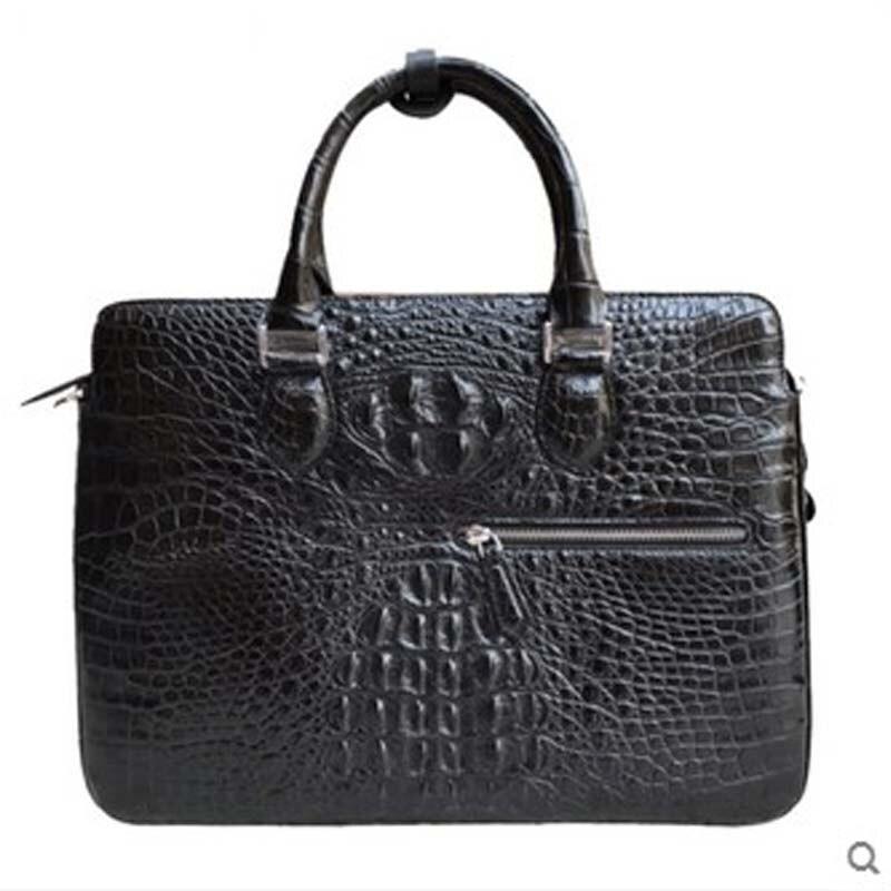 tianxin New crocodile skin men handbag men briefcase business casual single shoulder men crocodile bag