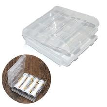 1 Pcs Mini Batterij Case Houder Organizer Box Plastic Container Voor Aa Aaa Oplaadbare Batterijen Gdeals