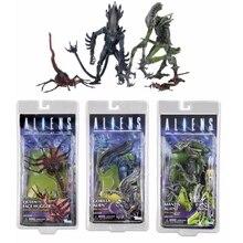 Aliens vs prédateur Figure série reine visage Hugger mante gorille Alien PVC figurine modèle jouet poupée cadeau