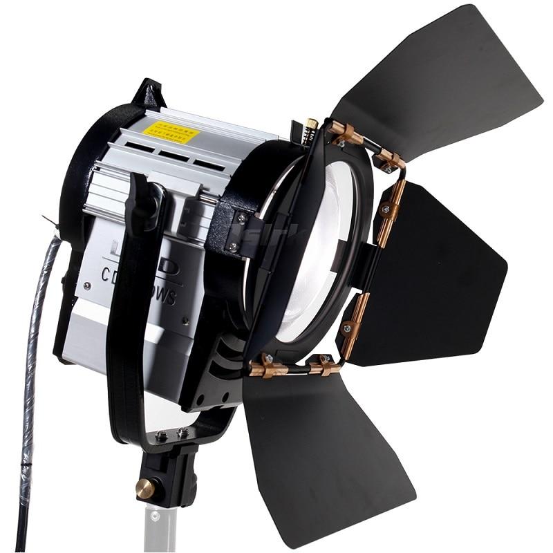 ASHANKS 100 واط LED بقعة ضوء عكس الضوء ثنائي اللون الأضواء استوديو فريسنل مصباح ليد 3200-5500 كيلو ل استوديو صور الفيديو الإضاءة