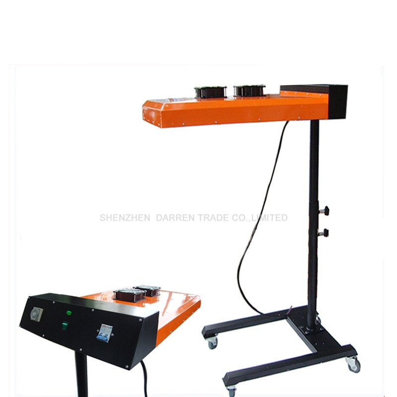 free shipping discount with gift 4 color 2 station silk screen printing machine tshirt printer press equipment carousel squeegee Digital Flash Dryer 220V Silk Screen Printing Machine Dry Machine T-shirt Press with Printing Area 50*60CM