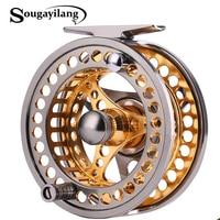 Sougayilang 5/6 Fishing Reel Cut Fishing Reel Large Arbor Left/Right Coil Die Casting Aluminium Reel Wheel Fishing Tackle