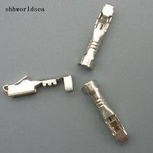 Shhworldsea 50 STKS 2.8mm vrouwelijke h11 9005 9005 HB3 HB4 auto terminal spade connector
