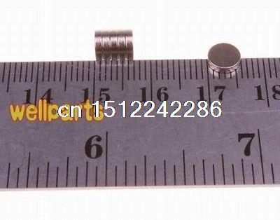 "Disco de neodimio de 50x 1/4 ""X 1/16"" imán de tierra rara súper fuerte N35 D6x1.5mm"