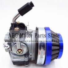 49CC mini Leistung 19mm Carb Vergaser Luftfilter Montage für 2-takt-47cc 49 Cc Mini Pocket Bike ATV