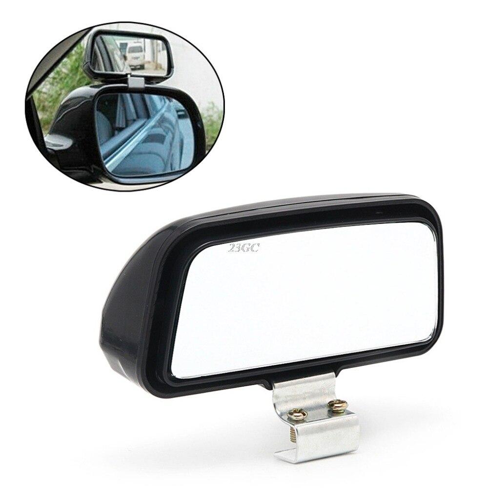 Зеркало заднего вида для автомобиля, широкоугольное зеркало с регулируемой глубиной 11x7 см, 1 шт., MAY18_25
