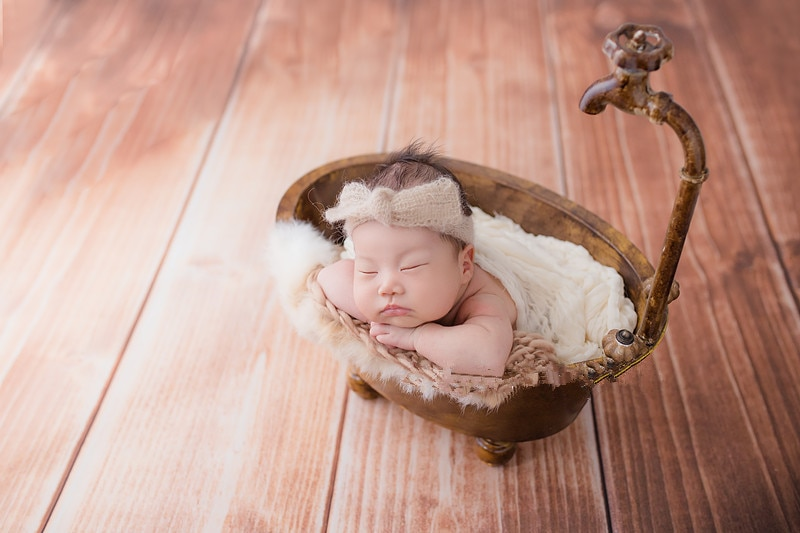 Newborn photophy  props  iron bathtub creative retro do old style baby bathtub photo accessories enlarge