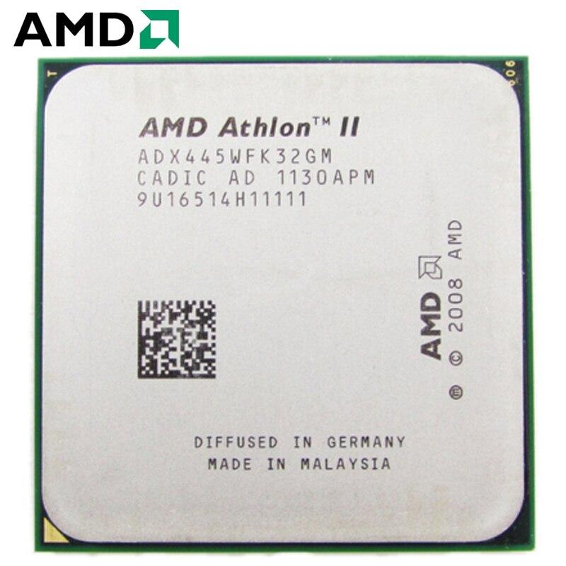 AMD Athlon II X3 445 CPU Socket AM2 + AM3 95W, 3,1...