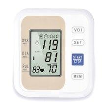 KIUZOU tensiomètre intelligent avec écran LCD Style bras pression artérielle électronique systolique diastolique pouls soins de santé