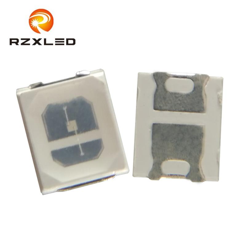 100 unids/lote LED 1W solo Color paquete 2835 SMD 6,5 V 150mA verde 520NM 515NM 517NM diodo