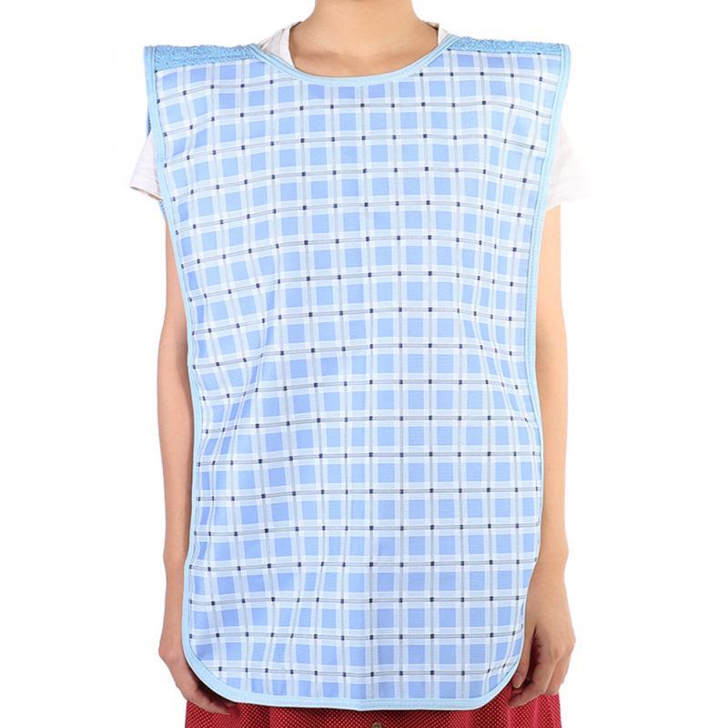 Cuidado de la salud adulto babero para la hora de comer ropa de comedor Extra grande lavable impermeable ropa soportes protectores