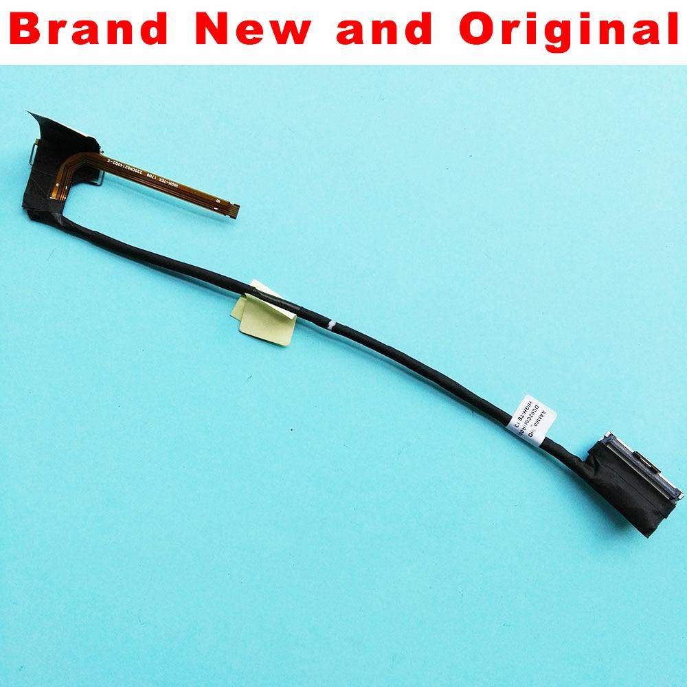 Novo cabo lcd original para dell xps 15 9550 9560 lcd lvds led cabo de exibição vídeo tela aam00 edp fhd cabo dc02c00bj00 074xjt