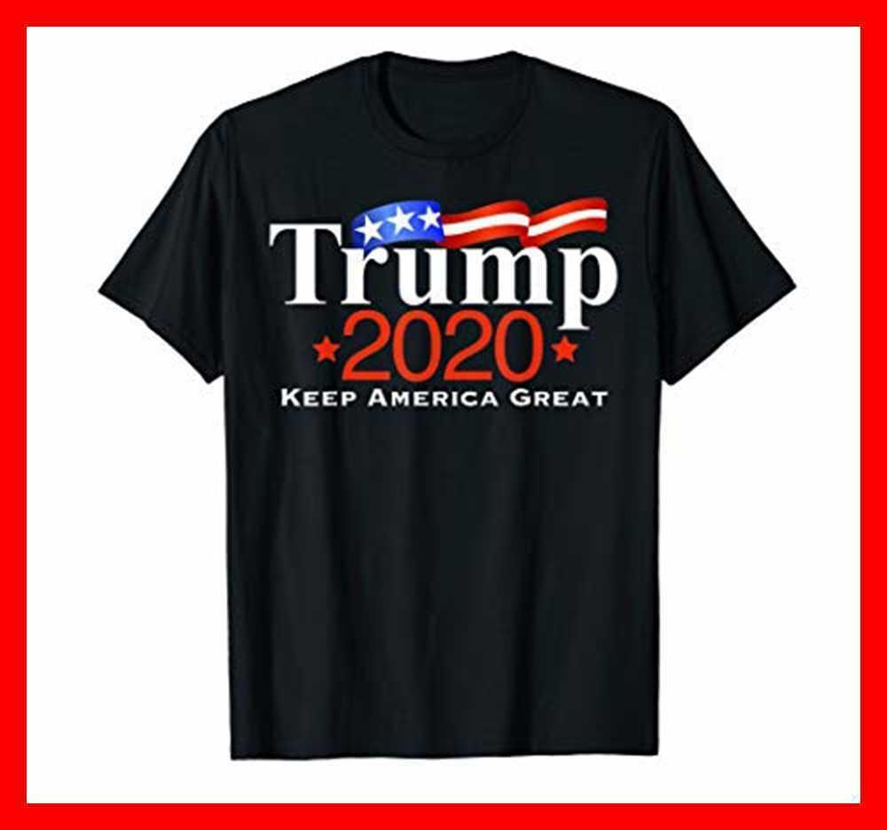 Pro Trump 2020 camiseta regalos 4 de julio Día de la independencia gris hombres pequeños