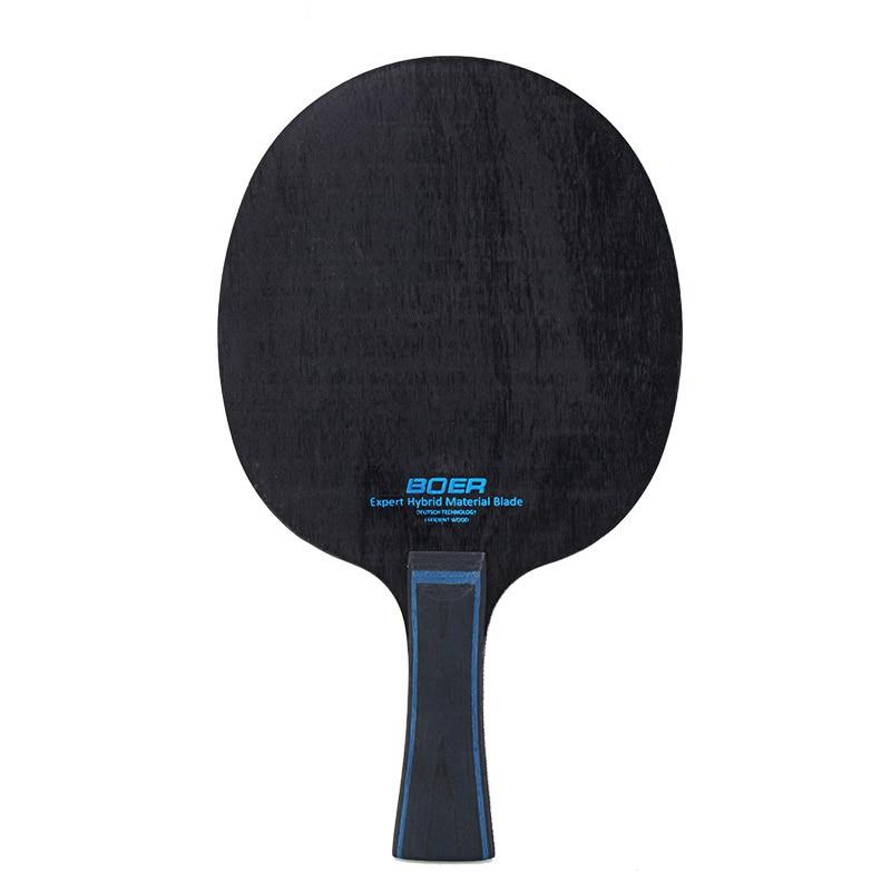 Raqueta de Ping Pong fibra de carbono & aril Group fibra Tenis de Mesa hoja 7 Ply Ping Pong hoja raqueta de tenis de mesa
