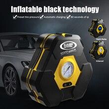 Mini Compresor 12v Compresor de aire eléctrico de coche 19 Gang puntero Inflador de neumáticos con 3m extender cable de alimentación enchufe de encendedor de cigarrillos