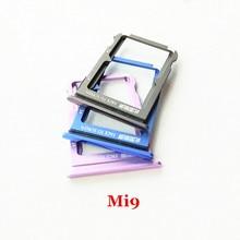 Nouvel emplacement pour carte SIM porte-plateau pour Xiao mi 9 mi 9 mi 9