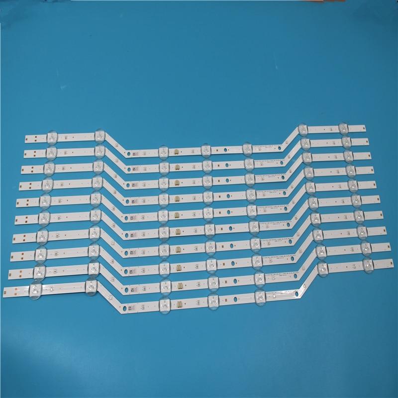 New original 5set=10pcs 7LED 620mm LED strip for Samsung UE32J5000 V5DN-320SM1-R2 2015 SVS32 FHD F-COM LM41-00134A LM41-00147A