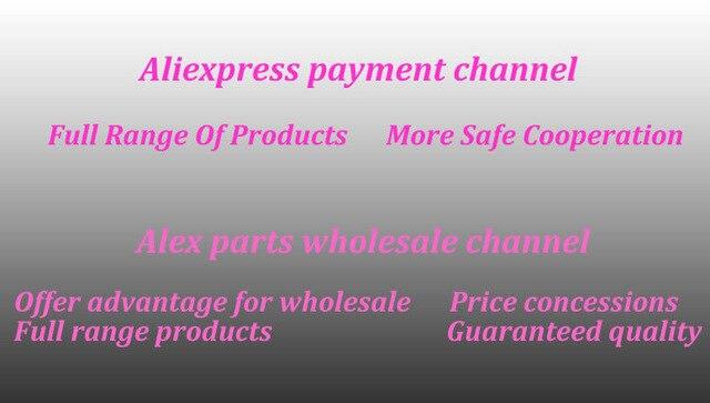 Canal de pago Aliexpress, canal de venta al por mayor de piezas Alex (amplia gama de productos/más cooperación segura/concesiones de precios)