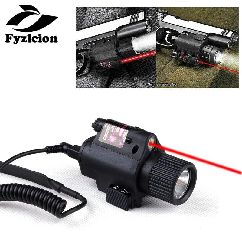 Jagd Glock 17 19 22 20 23 31 Taktische Pistole Cree LED Taschenlampe Licht Red Laser Sight Combo