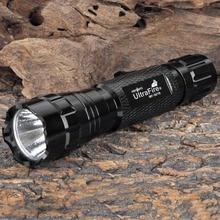 Ultrafire 501B lampe de poche LED 18650 batterie lampe de poche chasse projecteur torche lanterne Luz Flash Portable + cadeau USB nuit Lig