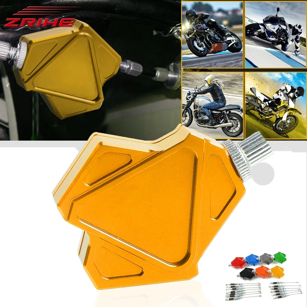 Piezas de motocicleta, sistema de palanca de embrague de fácil extracción CNC para YAMAHA YZF R1 R6 600R Thundercat YZ600 YZ 600 TRX850 TRX 850 FZR400RR/RRS