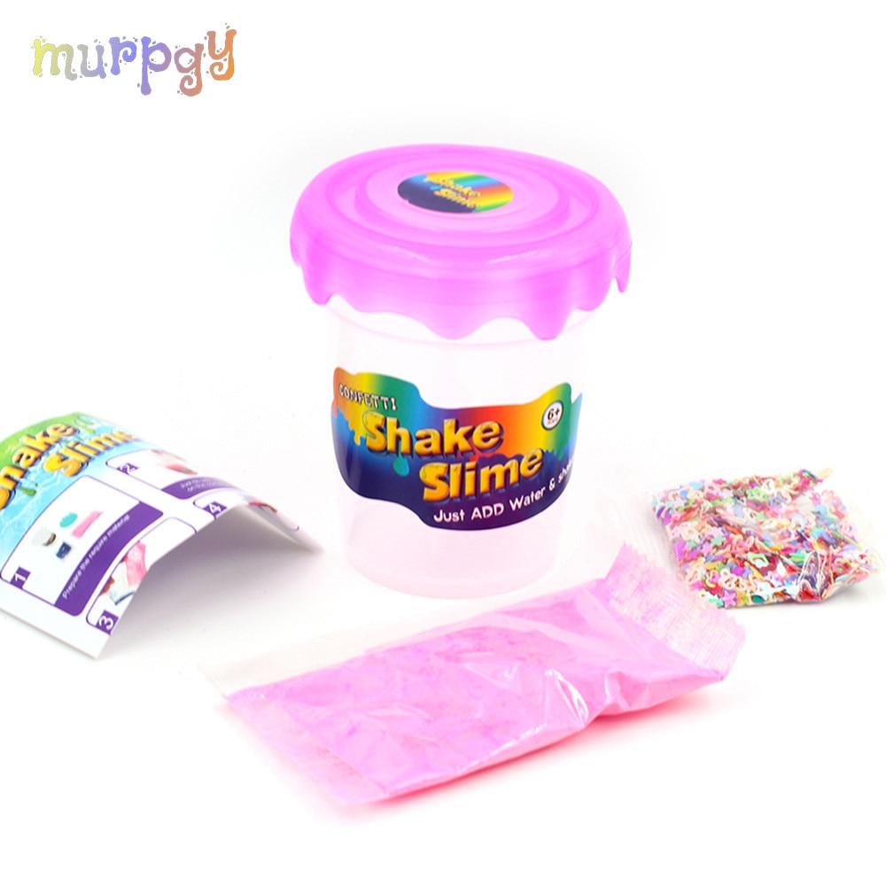 AliExpress - DIY Glitter Slime Magic Make Kit Filler Polymer Clay Powder for Supplies Slime Add Water Shake Putty Set Antistress Toys Gifts