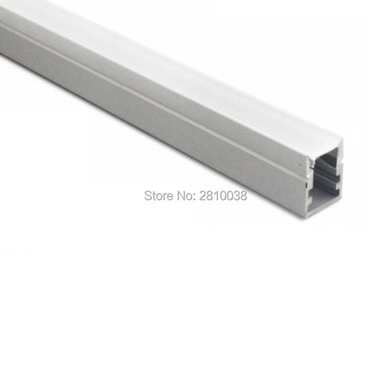 300X2 mt Sets/Lot Einbau wand led streifen licht aluminium profil und 13mm hohe U stil aluminium led profil für wand lampen