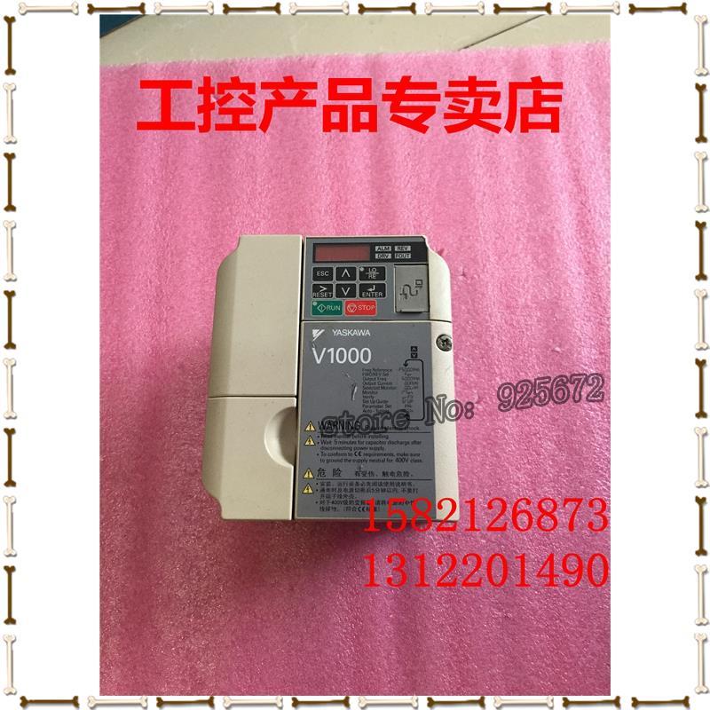 Yaskawa inverter V1000 series CIMR - VB4A0002BBA 0.75 KW / 0.4 KW 380 v real figure