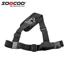 Nuevo montaje de arnés de hombro, tamaño ajustable, para GoPro Hero 4/3 +/3/2/1.